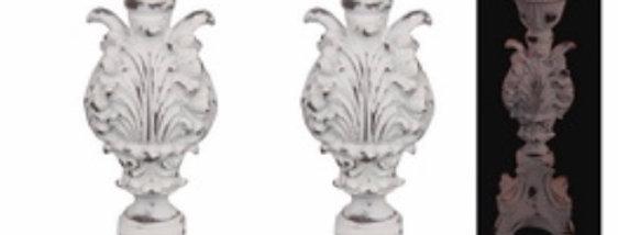 Lg Filigree Candle Holders