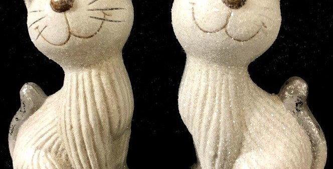 Ceramic Sparkley Cat