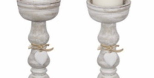 27cm Heart Candle Holder