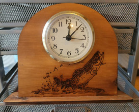 Salmon Clock