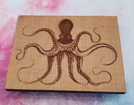 Octopus - Square Magnet