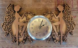 Fairy & Ivy Clock