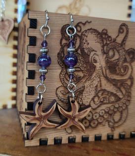 Sea Star - Purple Stone