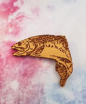 King Salmon - Shapes Magnet
