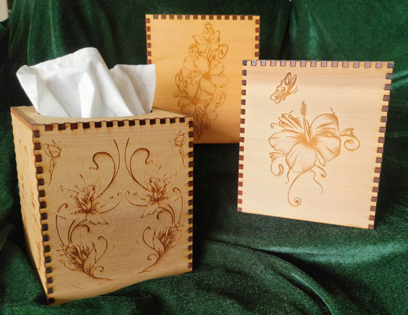 Floral Tissue Holders