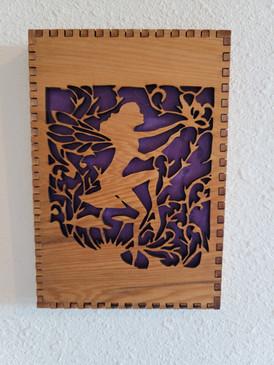 5 X 7 Fairy Cut Out - Wall/Shelf Decor