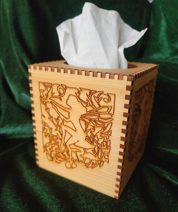 Fairy Garden Tissue Holder