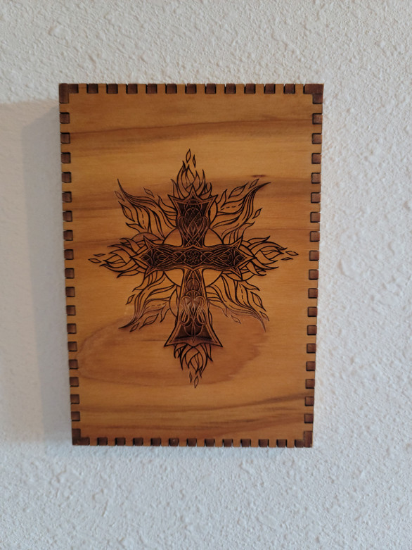 5 X 7 Celtic Cross - Wall/Shelf Decor