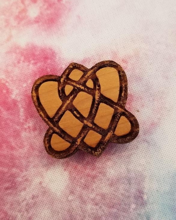 Celtic Infinity Heart Knot