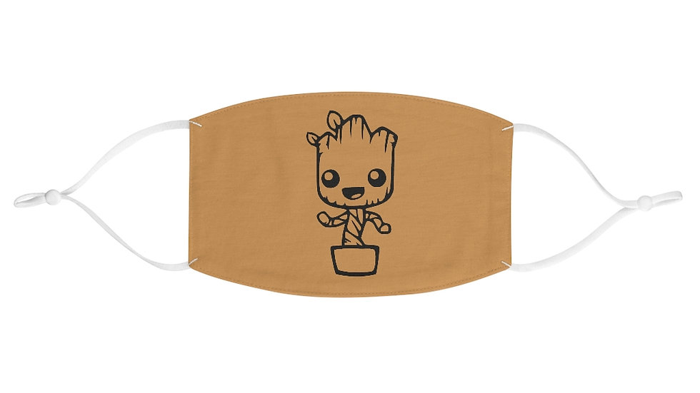 Baby Groot Face Mask