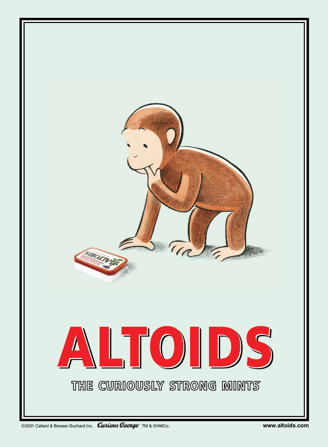 Altoids Curious George
