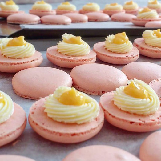 Our macarons are 100% homemade with love