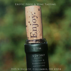 Exotic Food & Wine Tasting