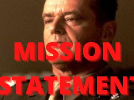 MISSION STATEMENT | DECLARAÇÃO DE MISSÃO | LEITLINIE