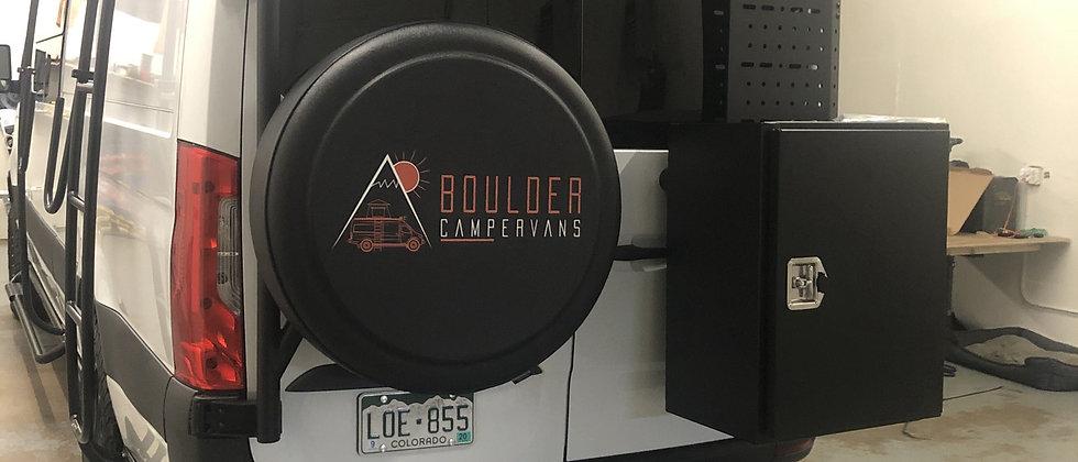 Boulder Campervans Tire cover