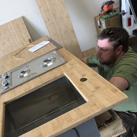 Van kitchen counter top.HEIC