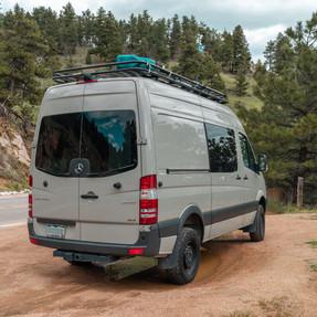 Campervan for sale-The Steely Van