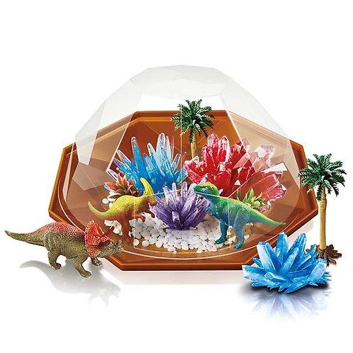 גידול גבישים דינוזאורים 4M