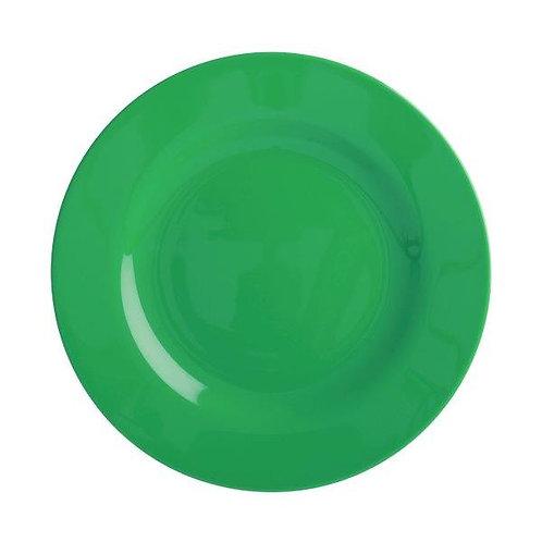 צלחת מלמין מנה ראשונה ירוק יער RICE