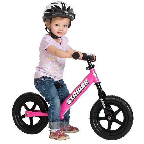 אופני איזון סטריידר 12 ספורט Strider - ורוד