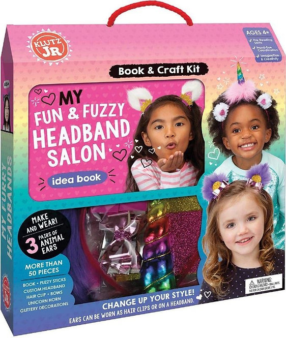 ערכה ליצירת קישוטי שיער לילדים