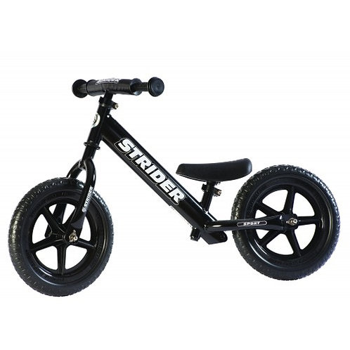 אופני איזון סטריידר 12 ספורט Strider - שחור