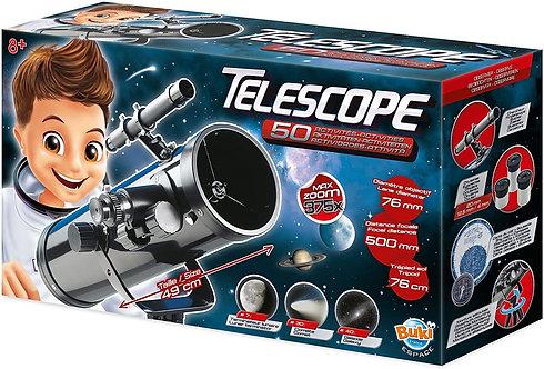 טלסקופ מתקדם 50 פעילויות מבית בוקי, צרפת
