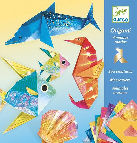 יצירה -אוריגמי תת ימי