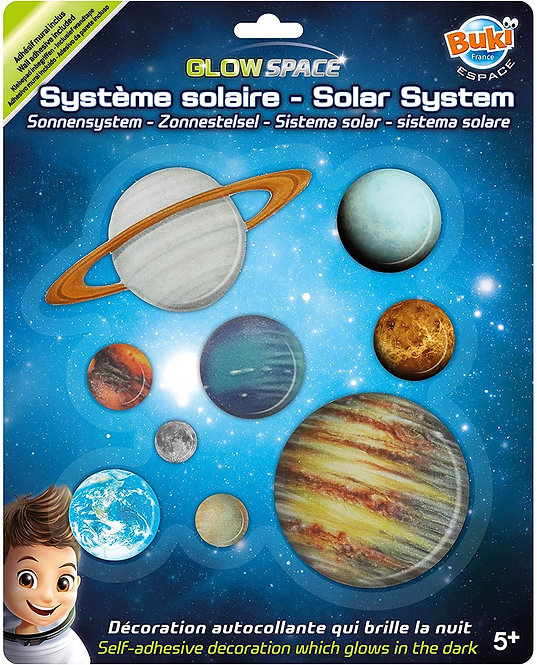 סט מדבקות מערכת השמש