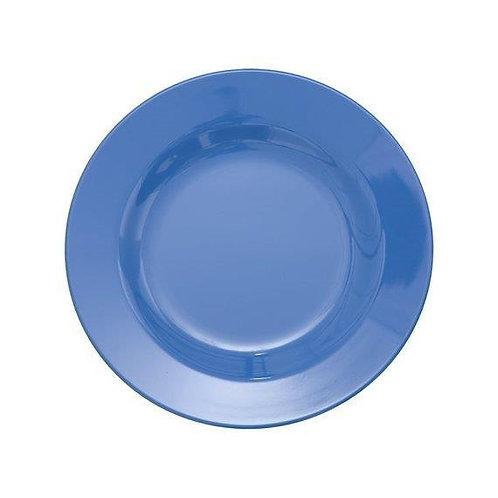 צלחת מלמין מנה ראשונה כחול פועלים חדש RICE