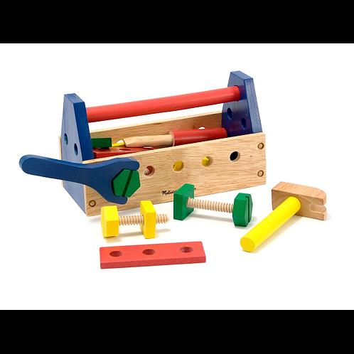 ארגז כלי עבודה מעץ מבית Mellisa and Doug