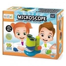 מיני מעבדה עם מיקרוסקופ מבית בוקי צרפת.