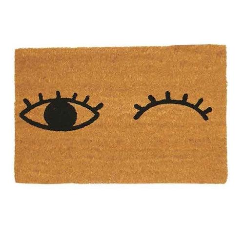 שטיח סף כניסה לבית או לבניין - עיניים