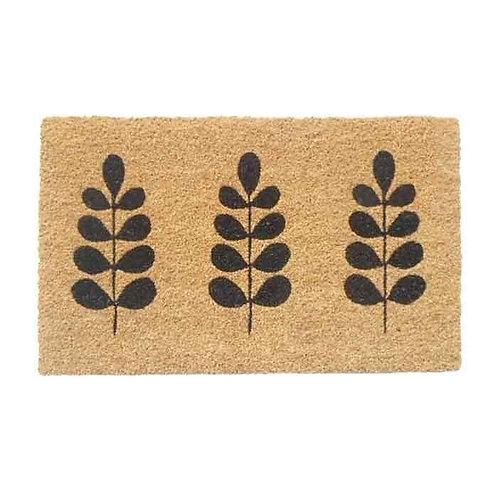 שטיח סף כניסה לבית או לבניין- סף בוטני עלים