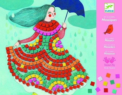 יצירה DJECO - מוזאיקה מסיבת שמלות