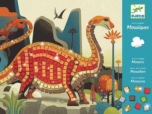 יצירה - מוזאיקה דינוזאורים DJECO