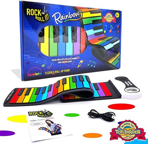 רוק אנד רול-ערכת פסנתר אלקטרוני לילדים