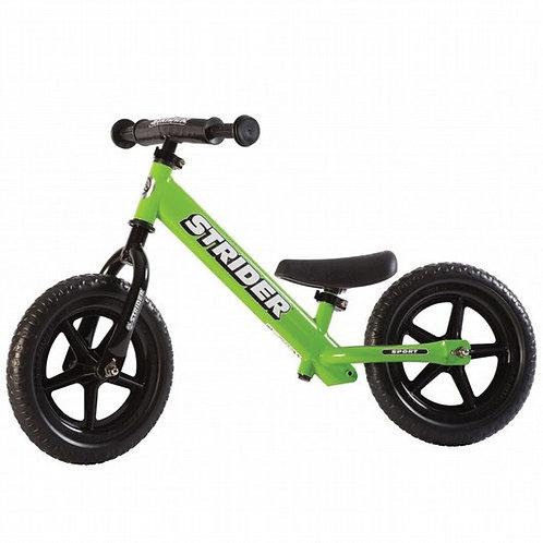 אופני איזון סטריידר 12 ספורט Strider - ירוק