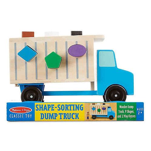 משאית התאמת צורות מבית Melissa and Doug