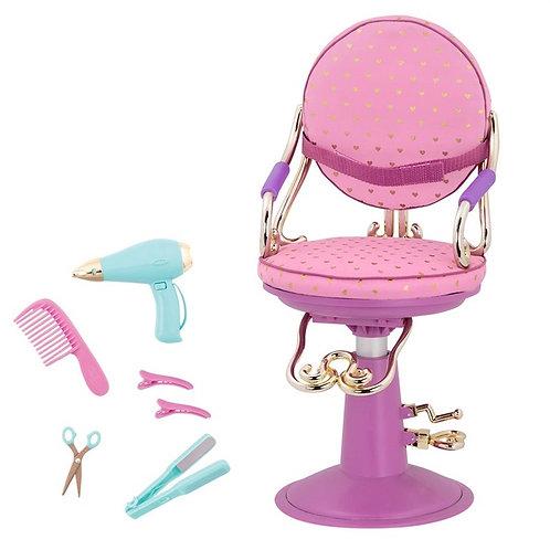 כיסא מספרה לבובה Our generation
