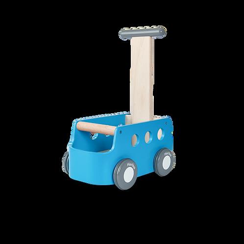 הליכון עץ - מובילים את המכונית כחול