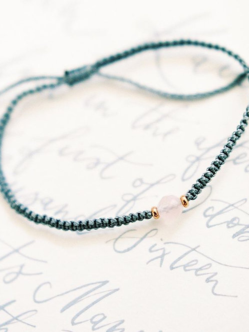 Gemstone bead friendship bracelets