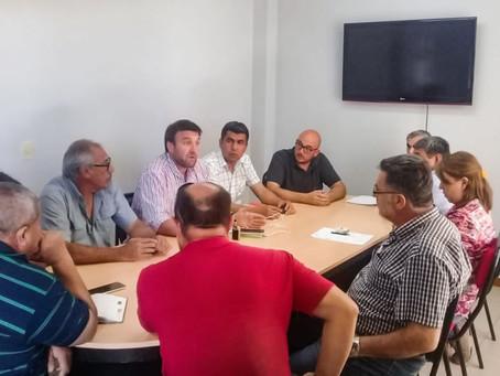 Autoridades de Ipalar mantuvieron un importante encuentro con el intendente electo Jorge Salomón