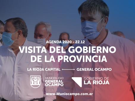 Visita de nuestro Gobernador Ricardo Clemente Quintela