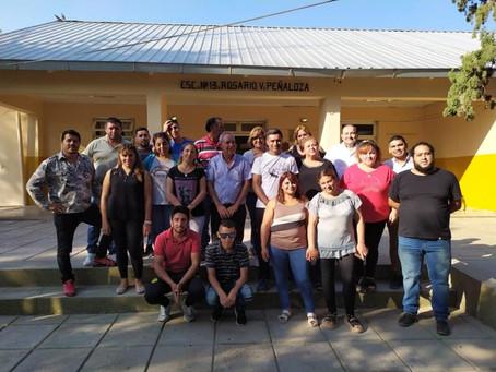 La Coordinación de Coop. Mutualismo y Econ. Social llevó adelante las gestiones en conjunto