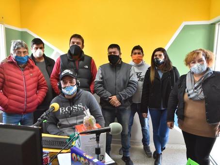 Re inauguró la Nueva Radio FM OCAMPO