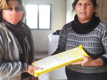 Entrega de medicamentos contra la varroa a productores apícolas