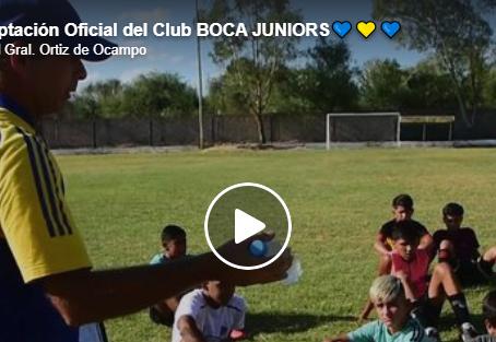 Club BOCA JUNIORS   Se evaluó a Jugadores de las categorías 2003 a 2009.