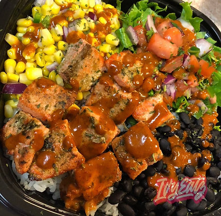 Chipotle Salmon Salad