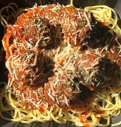 "Vegan Spaghetti & ""Meatballs"""
